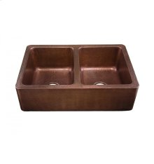 Corniglia Antique Copper Kitchen Sink