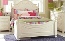 Charlotte Low Poster Bed Full