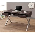 Contemporary Cappuccino Writing Desk Product Image