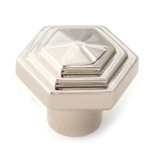 Geometric Knob A1535 - Polished Nickel