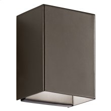 Walden 1 Light LED Wall Light Architectural Bronze