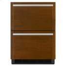 "Panel-Ready 24"" Double-Refrigerator Drawers Product Image"