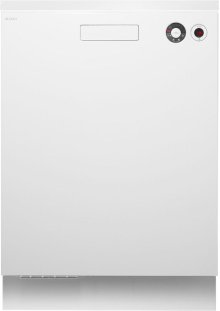 Built-in Dishwasher with front controls - White