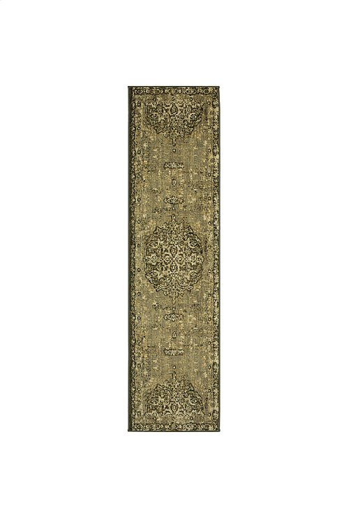 Floret Ivory Runner 2ft 1in x 7ft 10in