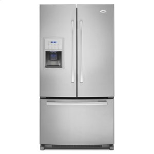 WHIRLPOOL35-inches wide Gold(R) Counter-Depth French Door Refrigerator - 20 cu. ft.