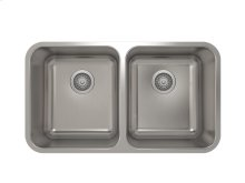 "Stainless steel kitchen sink With rounded corners [2""]"