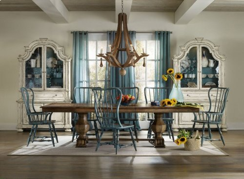 Sanctuary Rectangle Trestle Table