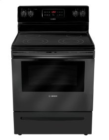 "30"" Electric Freestanding Range 300 Series - Black HES3063U"