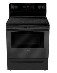 "30"" Electric Freestanding Range 300 Series - Black HES3063U"