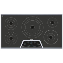 36 inch Masterpiece® Series Electric Cooktop CET365NS