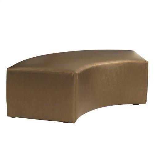 Universal Radius Bench Luxe Bronze