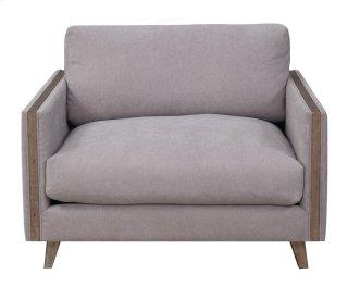Macyn Chair w/ USB Outlet Gray