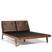 Kent Queen Size Platform Bed (Incl. Folding Board & Slats)