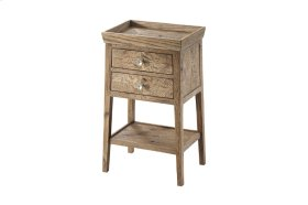Ardern Accent Table, Echo Oak