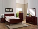 Louis Philip Night Stand Cherry Product Image