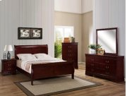 5 PC. Cherry Louie Philipe Bedroom Suite Product Image