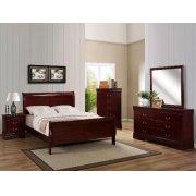 5 PC. Cherry Louie Philipe Bedroom Suite Product Image