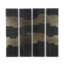 Antigua Layered Wall Panel, Set of 4