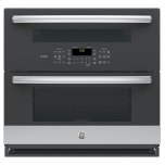 """Ge Profile(tm) 30"""" Built-In Twin Flex Convection Wall Oven"""
