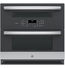 """GE Profile™ Series 30"""" Built-In Twin Flex Convection Wall Oven"""