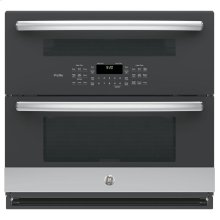 "GE Profile™ Series 30"" Built-In Twin Flex Convection Wall Oven"