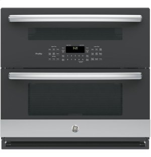 "GE Profile™ Series 30"" Built-In Twin Flex Convection Wall Oven Product Image"