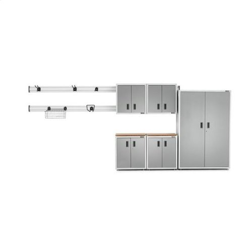 Gladiator® Ready-to-Assemble Full-Door Modular GearBox - White