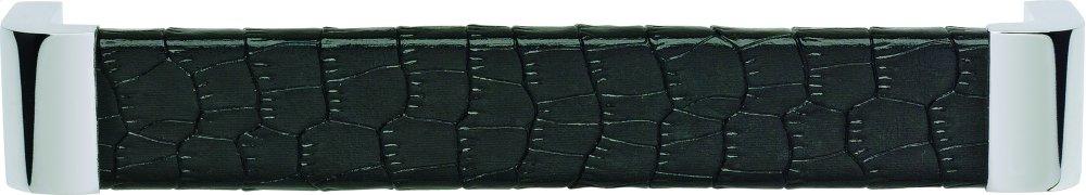 Paradigm Pull 6 5/16 Inch (c-c) - CH & Black Croc Leather
