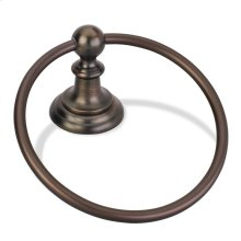 Elements Conventional Towel Ring. Finish: Brushed Oil Rubbed Bronze. Packed in White Box.