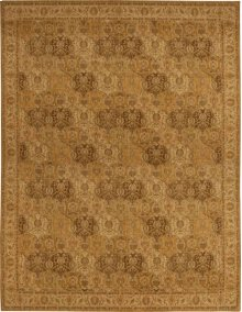 Hard To Find Sizes Grand Parterre Pt04 Gold Rectangle Rug 3'6'' X 4'6''