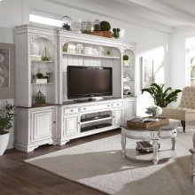 244  Entertainment Center with Piers