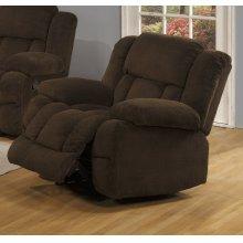 Chocolate Velvet Motion Chair