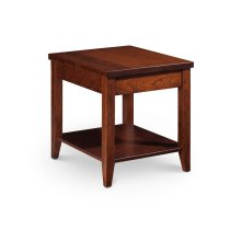 """Crawford End Table with Shelf, Crawford End Table with Shelf, 16""""x26"""""""