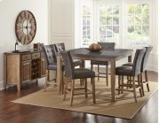 Debby Bluestone Counter  Height Table Top with 6 Stools Product Image