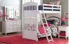 Academy - White Full Over Full Bunk Bed 4/6 Product Image