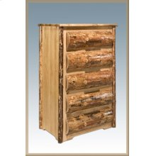Glacier Country Rustic 5 Drawer Chest of Drawers