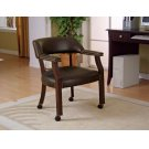 Traditional Charcoal Home Office Chair Product Image