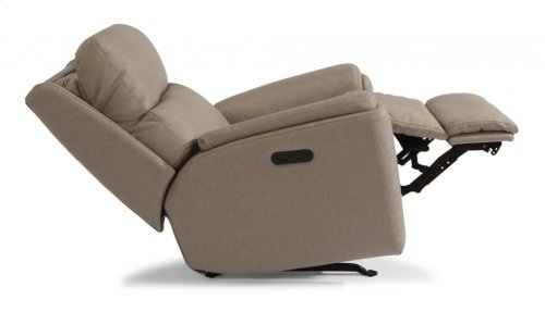 Rio Fabric Power Recliner with Power Headrest