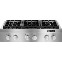 "Pro-Style® 36""Gas Rangetop, Stainless Steel"