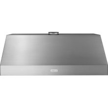 Hood PRO 48'' Stainless steel 1 blower, stainless steel, electronic buttons control, baffle filters