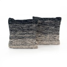 """20x20"""" Size Midnight Ombre Pillow, Set of 2"""