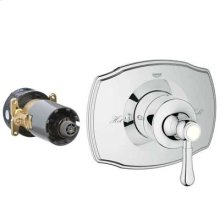 Starlight® Chrome Authentic Single Function Pressure Balance Trim With Control Module