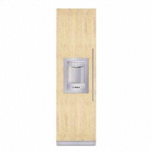 """Bosch24"""" Freezer, right door swing Also available with left door swing (B24ID80SLS)"""