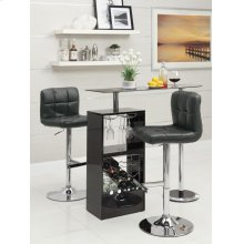 Transitional Black Bar Unit