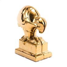 Bird Bookends Gold