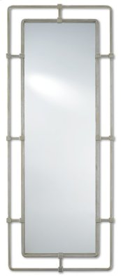 Metro Silver Rectangular Mirror