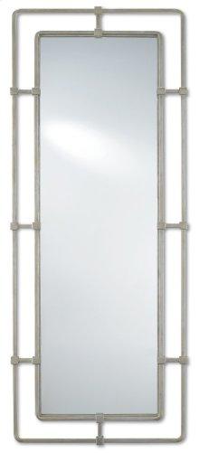 Metro Silver Rectangular Mirror