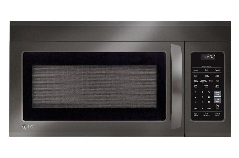 1.8 cu. ft. Over-the-Range Microwave Oven with EasyClean(R)  BLACK STAINLESS STEEL