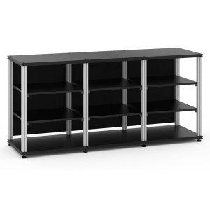 Salamander DesignsSynergy 30 Triple-Width Core Module, Black with Aluminum Posts