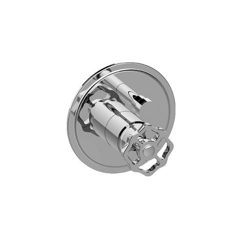 Vintage Pressure Balancing Valve Trim with Handle and Diverter